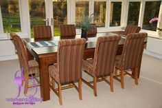 Multi Shapes Of Seat Dining Table 2014