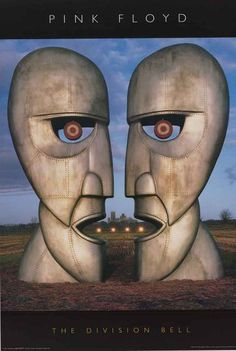 """A great Pink Floyd poster! The Storm Thorgerson (Hipgnosis) album cover art from the Division Bell LP! Take some """"Time"""" to check out the rest of our amazing selection of Pink Floyd posters! Need Poster Mounts. Storm Thorgerson, Greatest Album Covers, Iconic Album Covers, Music Album Covers, David Gilmour, Progressive Rock, Pink Floyd Keep Talking, Discos Pink Floyd, Art Pink Floyd"""