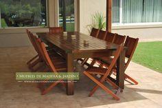 venta de mesas de madera