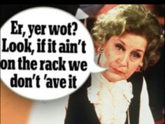 She is such a sarcastic smart ass British Tv Comedies, Classic Comedies, British Comedy, Comedy Series, Comedy Tv, English Comedy, Are You Being Served, Keeping Up Appearances, Humor