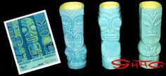 Shag Tiki Mug 3-Pack :: Mutuaga, Manihiki & Kahalu'u!!