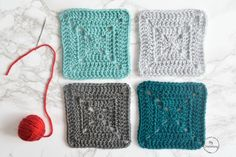 In this tutorial I am going to show you how to use Mattress Stitch to join your crochet motifs together with a perfectly invisible seam. This method is mostly used to join crochet squares or garments and honestly it isn't the . Joining Crochet Squares, Granny Square Crochet Pattern, Tunisian Crochet, Granny Squares, Crochet Granny, Crochet Edging Patterns, Crochet Motif, Crochet Yarn, Crochet Blankets