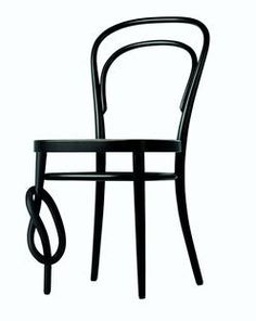 """For over 150 years no one sought to toy with Michael Thonet's """"Coffee House"""" Chair No 14. Then Konstantin Grcic took up the challenge, with an alteration that transforms a design classic into a work of art...."""