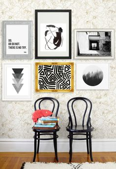 """""""Art is so affordable!"""" said no one, ever. Well, """"no one"""" was wrong. Etsy is, of course, a tremendous resource for unique home decor finds—especially art. The only problem is, it's a sea of good and bad. So, we took the liberty of doing the heavy surfing for you, and picked out 15 of our favorite black-and-white prints (some you can download and print out yourself for as low as $3!!) Now that's worthy of a double exclamation point, don't you think?"""
