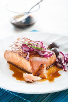 Endulza tu salmón con un glaseado de soja