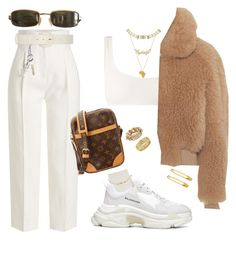 """Untitled #576"" by youraveragestyle ❤ liked on Polyvore featuring Rosetta Getty, Solid & Striped, Comme des Garçons, Louis Vuitton, Acne Studios, Balenciaga, Tom Ford, Cartier, Ryan Roche and Christian Dior"