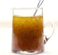 Asian vinaigrette - this was delicious and served it as dressing, fish marinade, etc.