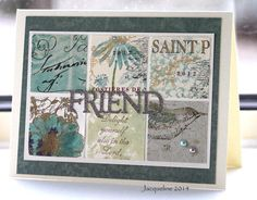 Using up the scraps. This is for one of my friends in Holland. When she writes its just like a wink from the Lord!