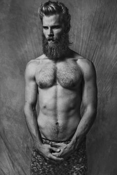 Beardy Perfection: Danish Model, Steffen Nørgaard, Photographed by Nectario Karolos Papazacharias