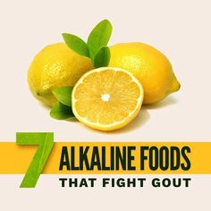 7 Alkaline Foods That Fight Gout Nutracraft Foods Good For Gout, Foods That Cause Gout, Food For Gout, How To Treat Gout, How To Cure Gout, Purine Diet, Gout Prevention, Gout Diet, Sky