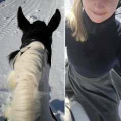 Lovely little ride today, all on our own 💕Willemo walked on with confidence, I love it 💪Maybe even TOO much confidence, she was very eager to get going 😅 After a good warm up in the walk we got some good trotting intervals and a bit of a canter, very good for my balance to do this without a saddle, even though I should try to focus more on the trot, those core muscles wont build themselves 😅👍 Riding skirt by @klesarven 💕