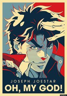 The best jojo Jojos Bizarre Adventure Jotaro, Jojo's Bizarre Adventure Anime, Jojo Bizzare Adventure, Jojo Bizarre, Bizarre Art, Manga Anime, Anime Art, Poster Anime, Jojo's Adventure