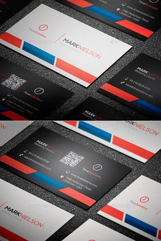 Clean Business Card Template #design Download: http://graphicriver.net/item/clean-business-card/8793323?ref=ksioks