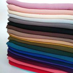 1 piece Premium Chiffon hijab scarf lot, mixed color, SHIPS from USA, Modern Hijab Fashion, Colorful Fashion, Style Fashion, Chiffon Kimono, Chiffon Scarf, Hijab Style Dress, Abaya Style, Hijab Outfit, Mode Turban
