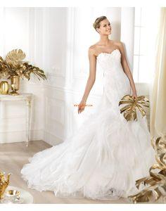 Sjöjungfru Vår 2014 Elegant & Lyxig Bröllopsklänningar 2014
