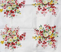 Vintage Wilendur tablecloth:  HAVE (with four napkins too!)