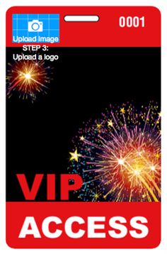 If you're hosting a large 4th of July event with different access levels for general admission, VIPs, staff, and more, try our customizable 4th of July Badges with Lanyards. Make sure everything runs smoothly and security is effective by getting these colorful and patriotic passes!