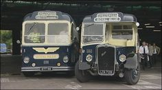 Royal blue buses of Bristol