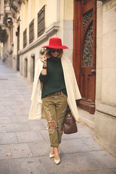 Ripped green jeans & Audemars Piguet
