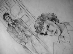 Sherlock meets Doctor Who. I wish I had the patience to draw this...I adore it more than is probably healthy. That hasn't stopped me before though.