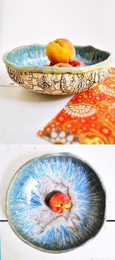 Lee Wolfe Pottery — handmade ceramic bowl Urban Rustic
