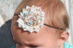 15 OFF Baby Headbands Flower Headaband Baby Bows by cutenessbuns, $5.95