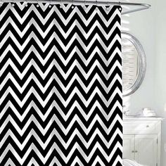 Chevron Shower Curtain | Gracious Style