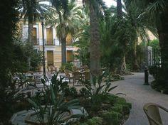 Jardines del bar casino balnearo de archena
