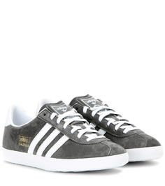 2f2c0aab868 Gazelle grey suede sneakers Gazelle Gris