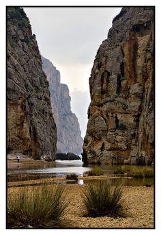 Fantástica esa playa, tengo que volver  Sa Calobra, Mallorca   Spain. This place is truly beautiful.........................