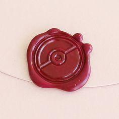 Pokeball Wax Seal Stamp/ pokemon sealing stamp/pikachu by Bielyse Tacky Wedding, Geek Wedding, Dream Wedding, Cute Wedding Ideas, Wedding Themes, Pokemon, Pikachu, Wax Seal Stamp, Custom Stamps