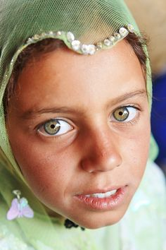 Iranian Girl with the most Beautiful Eyes in The World by Persian Queenz, via Flickr