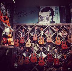 Can you find the #OhanaUkuleles #pineapple shaped #ukulele int his photo by @crazyjohnny?