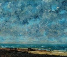Gustave Courbet - The Sea