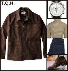 WEEKEND(JEAN STYLE): Canali(Coat)-Jack Mason(Watch)-Gagliardi(Sweater)-APC(Jeans)-Unknown(Boots)