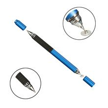 Excellent 2 in1 Capacitive Touch Screen Stylus For iPhone For iPad For Samsung Tablet Ballpoint Pen School Office Supplies