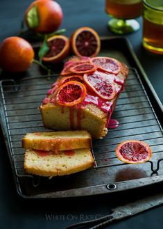 This looks so good! Orange Buttermilk Pound Cake Recipe #Yummy #Desserts #Orange #Blood_Orange #Pound_Cake #Recipe
