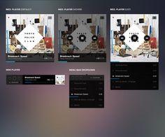 Web / Music Player