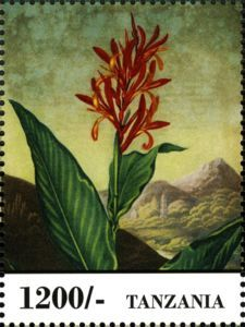 Sello: Flowers (Tanzania) (Fauna & Flora of Africa) Mi:TZ 5005,WAD:TZ026.13