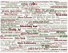 a printout of the saying merry christmas in many different languages merry christmas quotes christmas - Different Ways To Say Merry Christmas