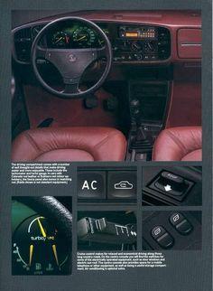 Saab 900 Turbo 16 S Saab 900 Convertible, Saab Automobile, Saab Turbo, Car Brochure, Car Advertising, Commercial Vehicle, Dream Cars, Classic Cars, Volvo