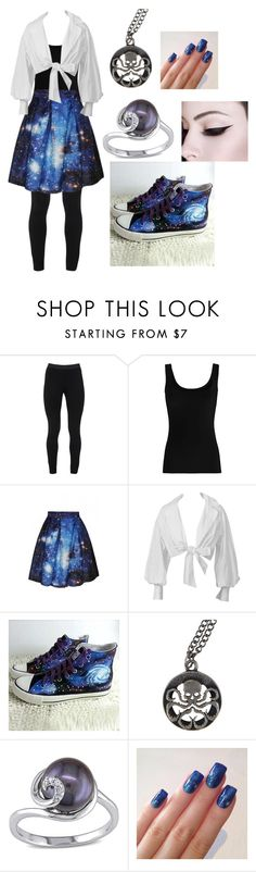 """Galaxy dress"" by viktoria-kovacs-ferencz on Polyvore featuring Peace of Cloth, Twenty, WithChic, HVBAO and Miadora"