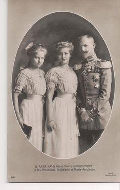 Vintage Postcard Prince Karl Anton of Hohenzollern Amp Daughters | eBay