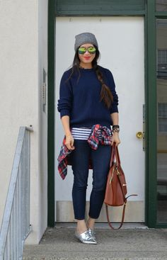 Navy, Stripes and Plaid