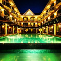 Scenic and elegant are just some of the adjectives we can describe the most photographed hotel in Boracay Island - Boracay Mandarin Island Hotel, Boracay Island, Philippines