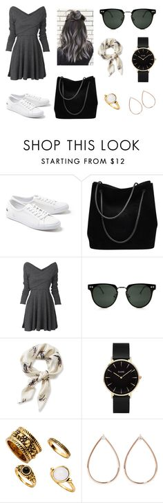 """Untitled #331"" by fashion-with-dudette on Polyvore featuring Lacoste, Gucci, Spitfire, L.L.Bean, CLUSE and Anita Ko"