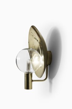 Rare set of 3 wall lamps model V-180 designed by Hans-Agne Jakobsson and produced by Hans-Agne Jakobsson AB in Markaryd, Sweden