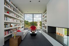 A hillside home in the suburbs of Washington D.C. | CONTEMPORIST