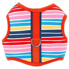 Top Paw Rainbow Stripes Padded Comfort Dog Harness XX Small >>> Click image for more details. (This is an affiliate link) #Dogs