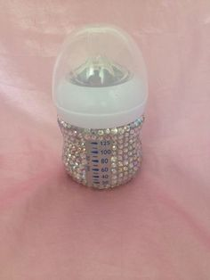 baby Romany Gypsy Rhinestone Crystal bling bottle To Order Any Colour